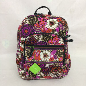 NWT Vera Bradley Campus Backpack Rosewood